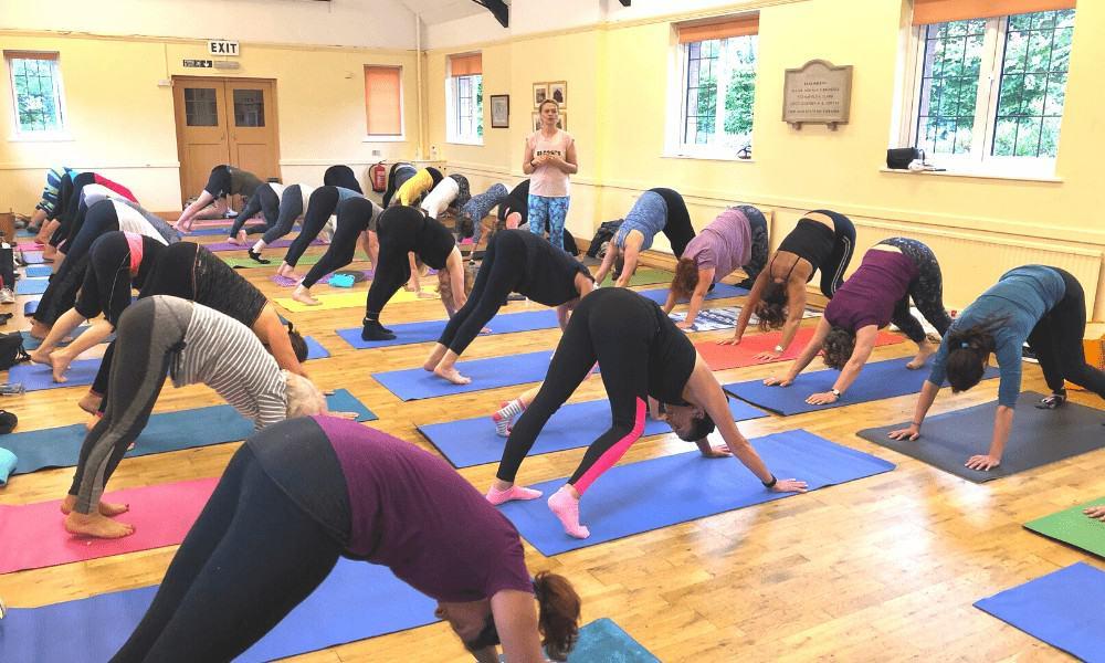 tabitha yoga class in derbyshire